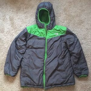 The North Face reversible winter coat
